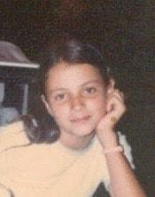 Simonetta Roma aged 10